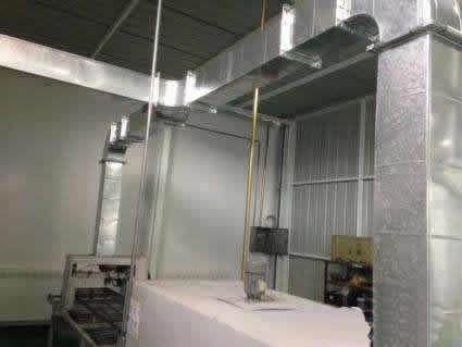 厨房排烟风管设计