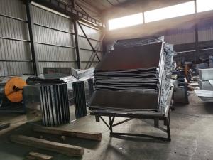 吕梁白铁皮不锈钢风管加工设计安装